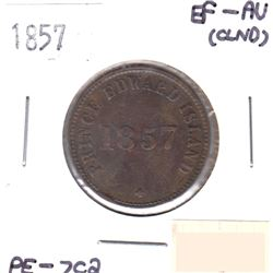 1857 PE-7C2 Token EF-AU (Cleaned)