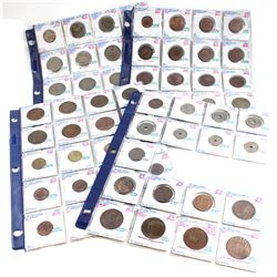 Mixed Estate Lot of World Coins dating 1888-1991. You will receive the following Countries: Jordan,