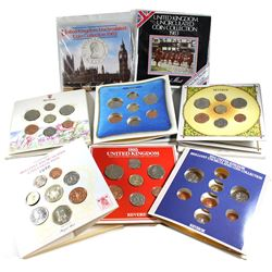 1982-1989 United Kingdom Uncirculated Coin Set Collection. You will receive each set released betwee