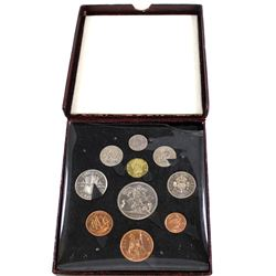 1951 The Festival of Britain 10-coin Proof Set in Original Clamshell Case. RARE!