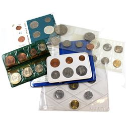 Estate Lot of Mixed World Coin Collection. You will receive the following; Ireland 8-coin Set in Fol