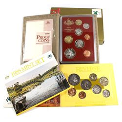 1988 Australia Mint set Collection. You will receive the 1988 Uncirculated 8-coin Set, and the 1988