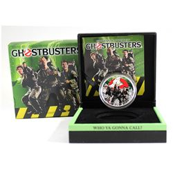2017 Tuvalu $1 Ghostbusters Crew 1oz. Proof Silver Coin (Tax Exempt)