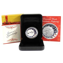 2014 Australia 50-cent Season's Greeting 1/2oz Proof Silver Coin (Tax Exempt)