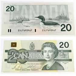 1991 4 digit RADAR $20.00 Note in Almost UNC Condition.