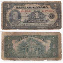 1935 English $1.00 Note, Series A.