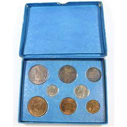 1940's Ireland Silver 8-coin Original Mint Set