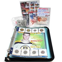 Estate Lot 'Canadian Sports and Team Canada Collection'. You will receive a 2000 Hockey Silver 25-ce