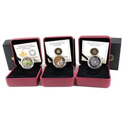 2013-2014 Canada $3 Fine Silver Coins (Tax Exempt). You will receive the 2013 Bee & Hive, 2014 Spide