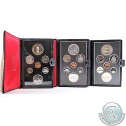 1977-1979 Canada Specimen Double Dollar Sets. Coins come in Original Mint issued folders with COAs.