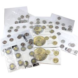 Lot of 11x Canada 2012-2014 Circulation Packs. This lot includes: 2010 Remembrance Day 10-pack, 2x 2