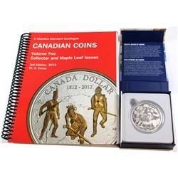 2015 Canada $200 Coastal Waters ($200 for $200 series issue #2) 2 oz. Fine Silver Coin - includes bo