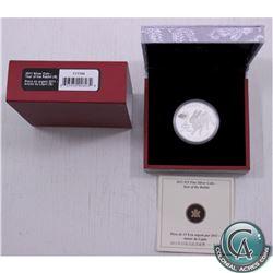 Scarce! 2011 Canada $15 Zodiac Lunar Year of the Rabbit Fine Silver Coin - includes 2017 Haxby Coins