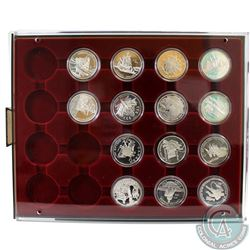 14x Canada Proof Commemorative Silver Dollars. This lot includes: 1987, 1991, 1992, 1993, 1994, 1996
