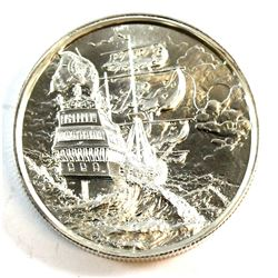 The Privateer Collection - The Storm Ultra High Relief 2oz. .999 Fine Silver Coin (TAX Exempt)