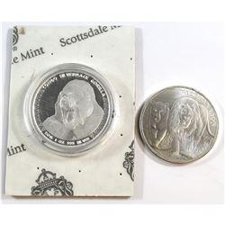 2015 Congo 1oz Silverback Gorilla & 2016 Congo 1oz African Lion Fine Silver Coins (Tax Exempt). Plea