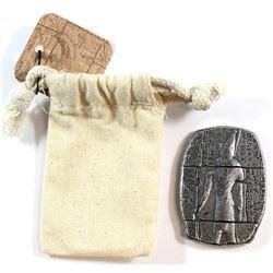Monarch 3 oz. .999 Silver Egyptian Horus Relic Bar (Tax Exempt)