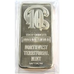 Northwest Territorial Mint 10oz Fine Silver Bar (Tax Exempt)