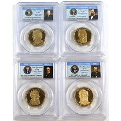 2011-S USA Presidential Dollars PCGS Certified PR-69 Deep Cameo: Rutherford B. Hayes, James Garfield