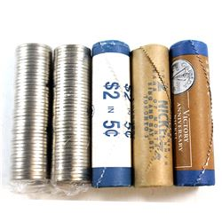 Estate Lot of Canada 5-cent Original Rolls of 40pcs/each. You will receive the following Rolls: 1967
