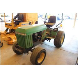 JOHN DEERE 856 FARM TRACTOR; VIN/SN:420077 - 3 PTH, TURF TIRES, ROLL BAR, 1,265 HOURS