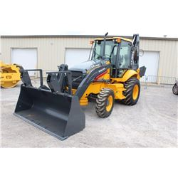 "2011 VOLVO BL70 LOADER BACKHOE; VIN/SN:20448 - 4X4, E-STICK, 24"" HOE BUCKET, 48"" CLEAN OUT BUCKET, E"