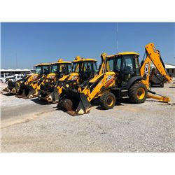 2015 JCB 3CX14HFCM LOADER BACKHOE; VIN/SN:TC02273320 - 4X4, E-STICK, MP BUCKET, FLIP FORKS, 24'' HOE