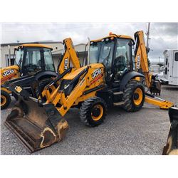 2015 JCB 3CX14HFCM LOADER BACKHOE; VIN/SN:TE02273350 - 4X4, E-STICK, MP BUCKET, FLIP FORKS, 24'' HOE