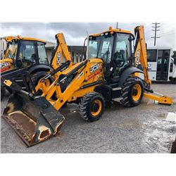 2015 JCB 3CX14HFCM LOADER BACKHOE; VIN/SN:TJ02273307 - 4X4, E-STICK, MP BUCKET, FLIP FORKS, 24'' HOE
