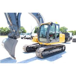 2011 JOHN DEERE 120D HYDRAULIC EXCAVATOR; VIN/SN:37327 - 9'-11'' STICK, 30'' BUCKET, 60  CLEAN OUT B