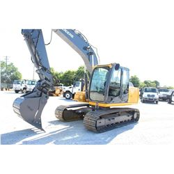 "2012 JOHN DEERE 120D HYDRAULIC EXCAVATOR; VIN/SN:37596 - 9'-11'' STICK, 30'' MP BUCKET, 60"" CLEAN OU"