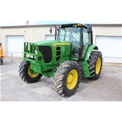 2011 JOHN DEERE 7230 FARM TRACTOR; VIN/SN:664650 - MFWD, 3 PTH, PTO, 3 HYD. REMOTES, ECAB W/ AC, 18.