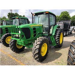 2010 JOHN DEERE 7230 FARM TRACTOR; VIN/SN:655864 - MFWD, 3 PTH, PTO, 3 HYD. REMOTES, ECAB W/ AC, 18.