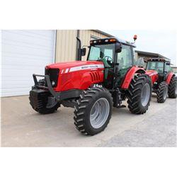 2013 MASSEY FERGUSON 5465 FARM TRACTOR; VIN/SN:B290048 - MFWD, 3 PTH, PTO, 3 HYD. REMOTES, ECAB W/ A