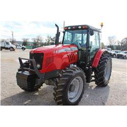 2013 MASSEY FERGUSON 5465 FARM TRACTOR; VIN/SN:B074012 - MFWD, 3PTH, PTO, 3 HYD. REMOTES, ECAB W/ AC