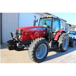 2013 MASSEY FERGUSON 5465 FARM TRACTOR; VIN/SN:C101068 - MFWD, 3 PTH, PTO, 3 HYD. REMOTES, ECAB W/ A