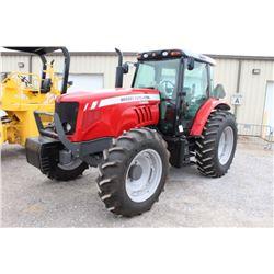 2012 MASSEY FERGUSON 5465 FARM TRACTOR; VIN/SN:B290052 - MFWD, 3 PTH, PTO, 3 HYD. REMOTES, ECAB W/ A