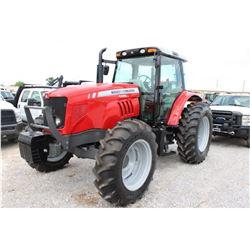 2012 MASSEY FERGUSON 5465 FARM TRACTOR; VIN/SN:C101016 - MFWD, 3 PTH, PTO, 3 HYD. REMOTES, ECAB W/ A