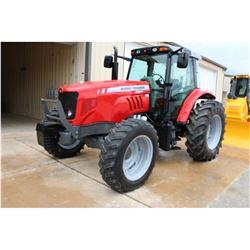 2012 MASSEY FERGUSON 5465 FARM TRACTOR; VIN/SN:B286006 - MFWD, 3 PTH, PTO, 3 HYD. REMOTES, ECAB W/ A