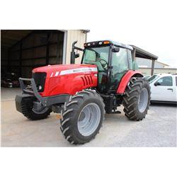 2011 MASSEY FERGUSON 5465 FARM TRACTOR; VIN/SN:B074007 - MFWD, 3 PTH, PTO, 3 HYD. REMOTES, ECAB W/ A