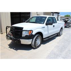 2014 FORD F150 PICKUP TRUCK; VIN/SN:1FTFX1EF5EKD62457 - 4X4, EXT. CAB, V8 GAS, A/T, AC, FRONT MTD WI