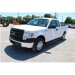 2014 FORD F150 PICKUP TRUCK; VIN/SN:1FTEX1CM7EFA85302 - EXT. CAB, V6 GAS, A/T, AC, 47,834 MILES