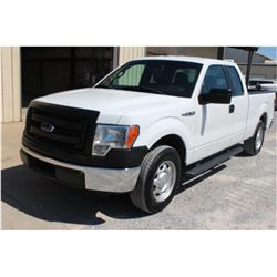 2014 FORD F150 PICKUP TRUCK; VIN/SN:1FTEX1CM9EFB18297 - EXT. CAB, V6 GAS, A/T, AC, 57,879 MILES