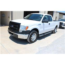 2014 FORD F150 PICKUP TRUCK; VIN/SN:1FTEX1CM5EFA85346 EXT. CAB, V6 GAS, A/T, AC, 61,734 MILES