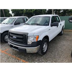 2013 FORD F150 PICKUP TRUCK; VIN/SN:1FTEW1CM2DFB46427 - CREW CAB, A/T, AC, 70,776 MILES