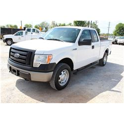 2012 FORD F150 PICKUP TRUCK; VIN/SN:1FTEX1EM6CFB03637 - 4X4, EXT. CAB, V6 GAS, A/T, AC, 242,921 MILE