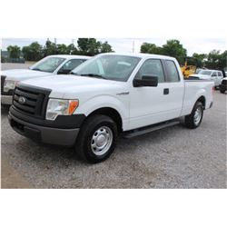 2012 FORD F150 PICKUP TRUCK; VIN/SN:1FTEX1CM6CFB36771 - EXT. CAB, V6 GAS, A/T, AC, 51,593 MILES