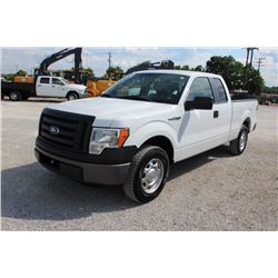 2012 FORD F150 PICKUP TRUCK; VIN/SN:1FTEX1CM2CFB36752 - EXT. CAB, V6 GAS. A/T, AC, 62,261 MILES
