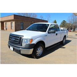 2012 FORD F150 PICKUP TRUCK; VIN/SN:1FTEX1CMXCFC04005 - EXT. CAB, V6 GAS, A/T, AC, 73,838 MILES
