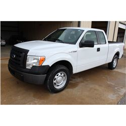 2011 FORD F150 PICKUP TRUCK; VIN/SN:1FTEX1CM6BFC07160 - EXT. CAB, V6 GAS, A/T, AC, 71,877 MILES